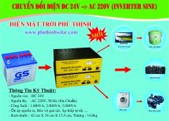 Inverter Sin Chuẩn 24V - 2.000VA , 3,000VA